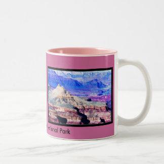 El parque nacional del Gran Cañón Taza De Dos Tonos