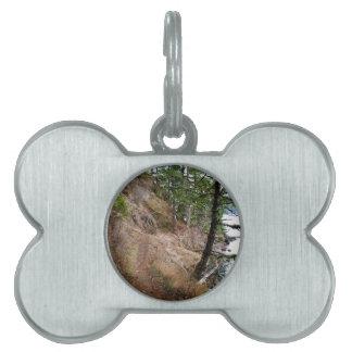 El parque nacional olímpico del rastro Spruce del Placas Mascota