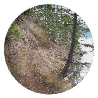 El parque nacional olímpico del rastro Spruce del Platos