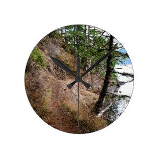 El parque nacional olímpico del rastro Spruce del Reloj Redondo Mediano