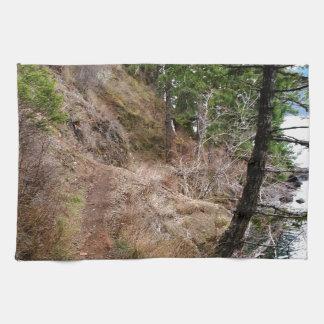 El parque nacional olímpico del rastro Spruce del Toalla