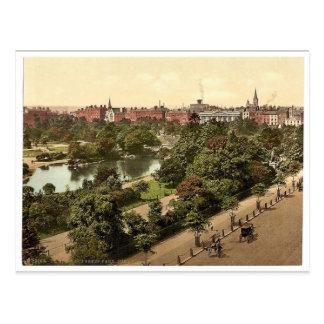 El parque verde de St Stephen. Dublín. Co. Dublín, Postales