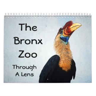 El parque zoológico de Bronx Calendarios De Pared