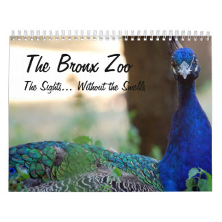 El parque zoológico de Bronx Calendario De Pared