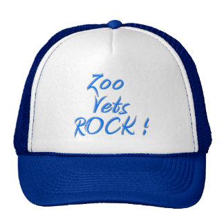¡El parque zoológico revisa la roca! Gorro