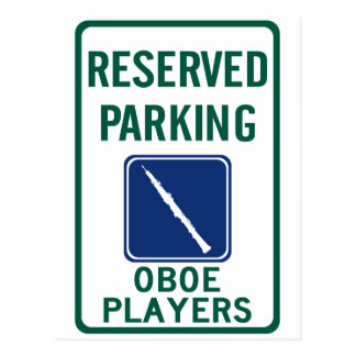 El parquear de los jugadores de Oboe Postales
