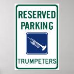 El parquear de los trompetistas poster