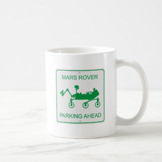 El parquear de Marte Rover Taza De Café