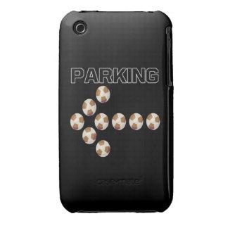 El parquear iPhone 3 cárcasa