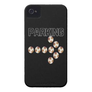 El parquear iPhone 4 Case-Mate protector