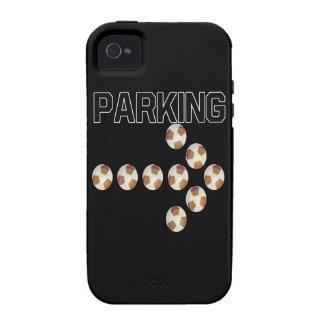 El parquear iPhone 4 funda