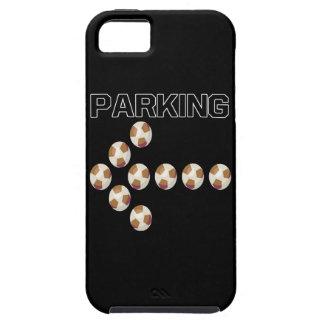 El parquear iPhone 5 carcasas