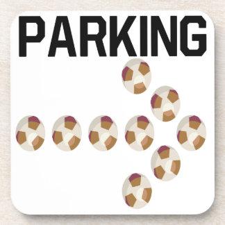 El parquear posavaso