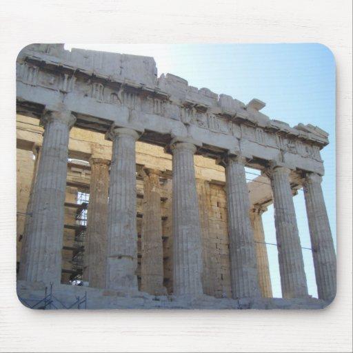 El Parthenon Alfombrilla De Ratón