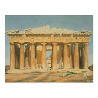El Parthenon, Atenas, 1810-37 Tarjetas Postales