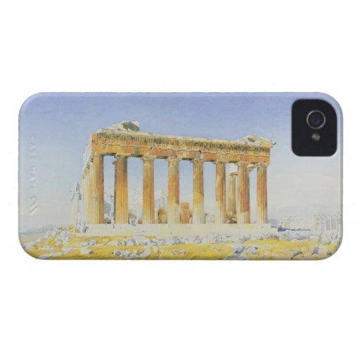 El Parthenon, c.1834 (w/c sobre el lápiz en el pap iPhone 4 Carcasa