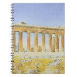 El Parthenon, c.1834 (w/c sobre el lápiz en el pap Cuaderno