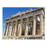 El Parthenon en la acrópolis 447 A.C. Tarjetas Postales