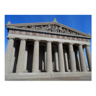 El Parthenon, Nashville Tarjeta Postal