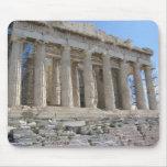 El Parthenon se sienta en el sitio más sagrado Tapetes De Ratones