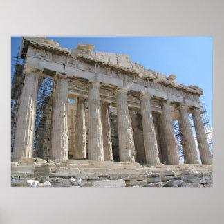 El Parthenon - siglo V A.C. Posters
