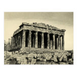 El Parthenon Tarjeta Postal