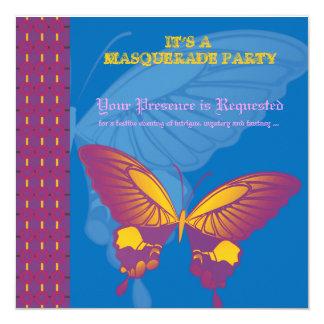 El partido de la mascarada junta tarjetas del comunicado personal