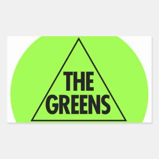 El Partido Verde Australia 2013 Pegatinas
