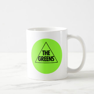 El Partido Verde: Australia 2013 Taza Básica Blanca