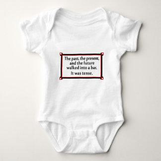 El pasado, el presente, y el futuro mameluco de bebé
