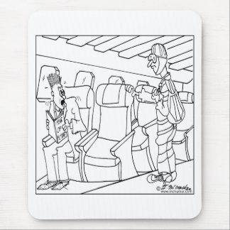 El pasajero lleva un paracaídas mousepads
