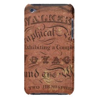 El pasatiempo geográfico del caminante Case-Mate iPod touch carcasas