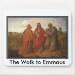 El paseo a Emmaus Tapete De Raton