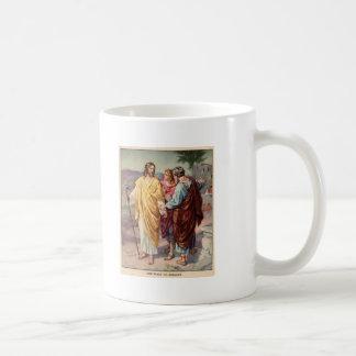 El paseo al emmaus taza de café