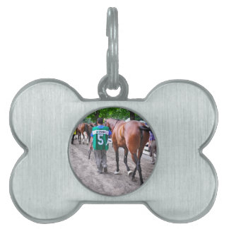 El paseo al prado placa de mascota
