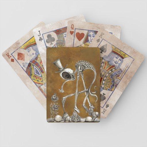 El paseo Brown BG Baraja Cartas De Poker