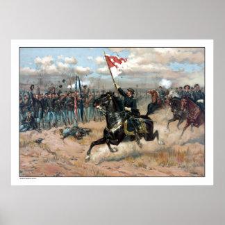 El paseo de Sheridan -- Guerra civil Poster