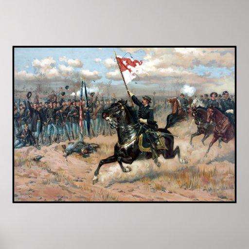 El paseo de Sheridan -- Guerra civil Póster