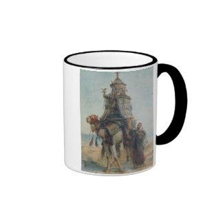 El paseo del desierto, 1839 (w/c en el papel) taza de dos colores