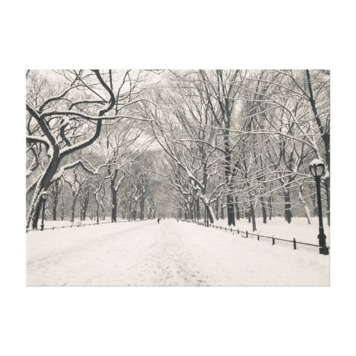 El paseo del poeta - Central Park - New York City Impresiones En Lona Estiradas