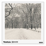 El paseo del poeta - invierno del Central Park