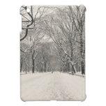 El paseo del poeta - invierno del Central Park iPad Mini Cárcasa