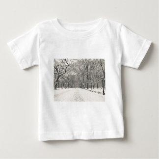 El paseo del poeta - invierno del Central Park Playera