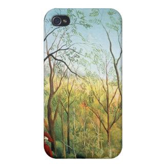 El paseo en el bosque, 1886-90 iPhone 4 carcasa
