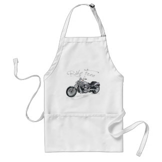 El paseo libera Harley Davidson Delantal