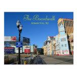 El paseo marítimo en Atlantic City Tarjetas Postales