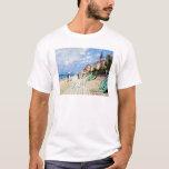 El paseo marítimo en Trouville Claude Monet Playera
