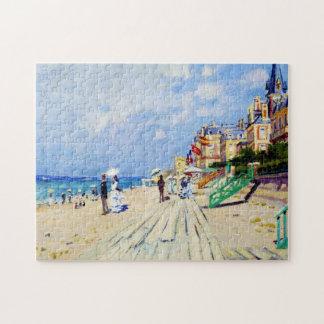 El paseo marítimo en Trouville Claude Monet Puzzles Con Fotos