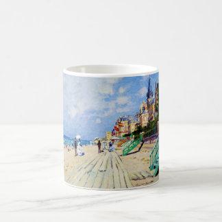 El paseo marítimo en Trouville Claude Monet Taza
