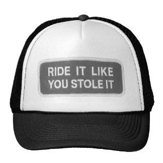 El paseo que tiene gusto de usted lo robó gorra